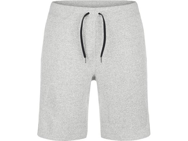 super.natural M's Vacation Knit Bermuda Grey Melange